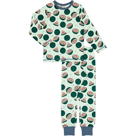 Maxomorra Pyjamas Set LS Watermelons