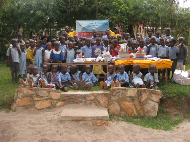 Photo: Paypal Donations: volunteers@abroaderview.org  Uganda Orphanage 2012-C