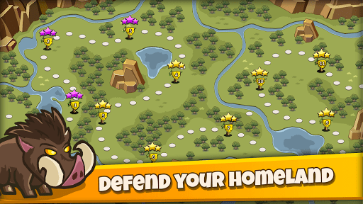 Wild Defense: Epic Tower Defense Strategy Game 1.0 screenshots 1