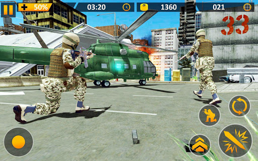 US Survival Combat Strike Mission screenshots 2