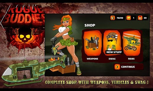 Rogue Buddies - Action Bros!- screenshot thumbnail
