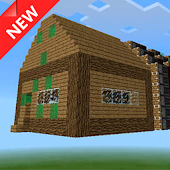 Flying House map for Minecraft