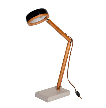 Hipp LED bordslampa - Fashion Black