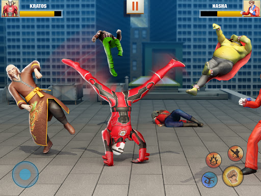 Ninja Superhero Fighting Games: City Kung Fu Fight apktram screenshots 5