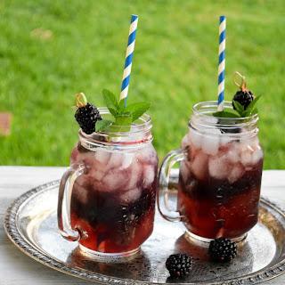Blackberry Sweet Tea Punch.