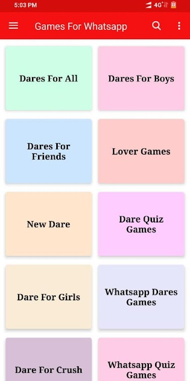 Questions For Whatsapp Dare Games For Whatsapp Android