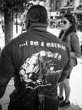 Photo: ...i am a machine  #street #streetphotography #shootthestreet #blackandwhite #blackandwhitephotography #bw #monochrome