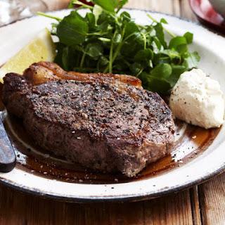 Sirloin Steak with Horseradish Cream