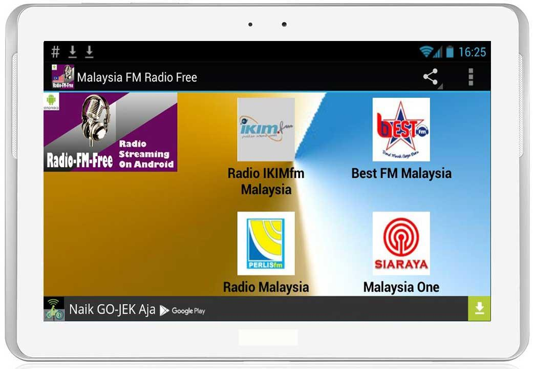 malaysia fm radio free screenshot