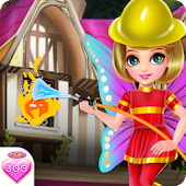 Fairy Princess Fire Rescue - Games for girls