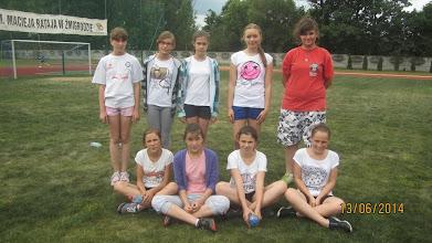 Photo: Dziewczęta tuż przed rozpoczęciem zawodów