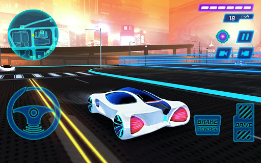 Concept Car Driving Simulator  screenshots 4