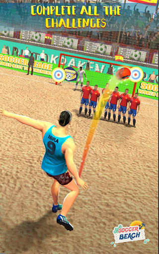 Free Kick Beach Football Games 2018 1.6 screenshots 2