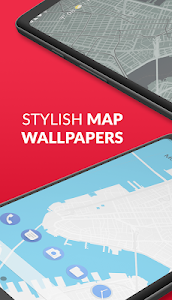 Wall St 🗺 Stylized Street Maps as Live Wallpapers 0.1.3