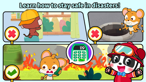 Baby Panda's Fire Safety screenshot 5