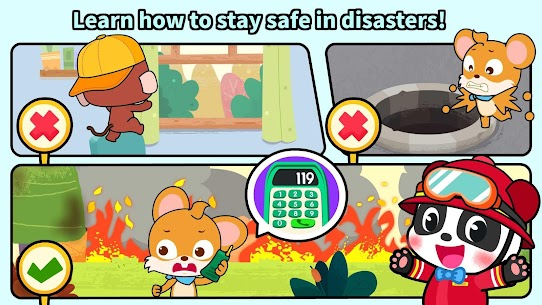 Baby Panda's Fire Safety 5