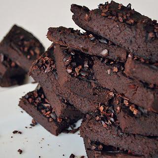 Flourless Avocado Black Bean Brownies [Vegan, Gluten-Free] Recipe