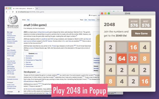 Classic 2048 Game