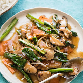 Chicken Stir Fry (Chop Suey).