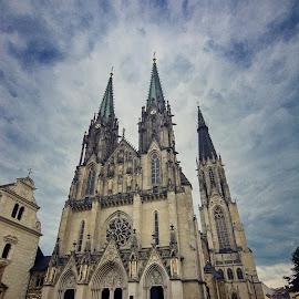 Olomouc by Jiri Cetkovsky - Buildings & Architecture Public & Historical ( svaty vaclav, church, olomouc, cathedral )