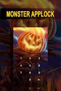 AppLock Theme Monster - náhled