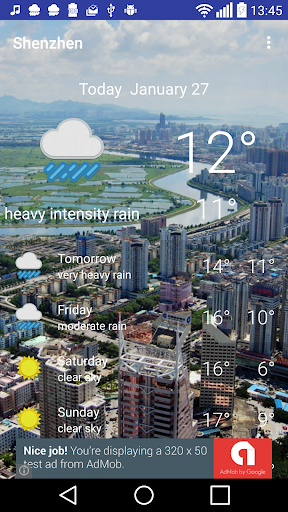 Shenzhen - weather