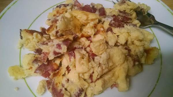 Egg And Beef Scramble Recipe