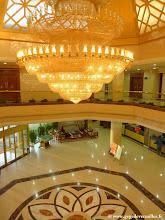 Photo: #012-Le hall de l'hôtel Yun Shan à Chengde
