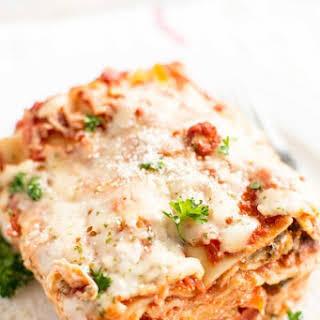 Crockpot Veggie Lasagna.