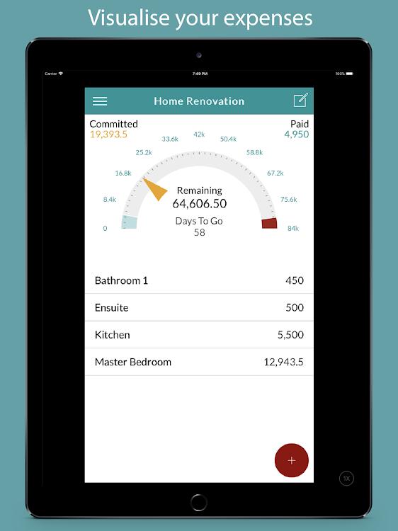 Budget My Reno - home renovation expense tracker – (Android