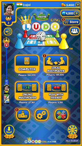 Ludo King™ by Gametion Technologies Pvt Ltd (Google Play, United