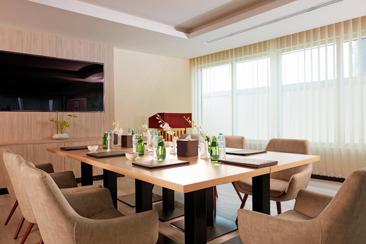 Meeting room at Al Barsha apartment