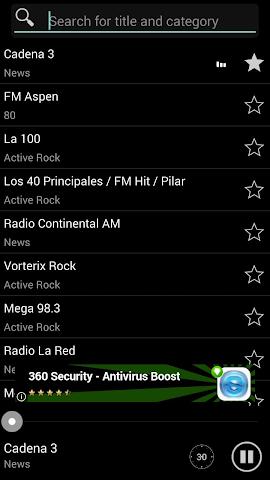 android Radio Online ARG Screenshot 0