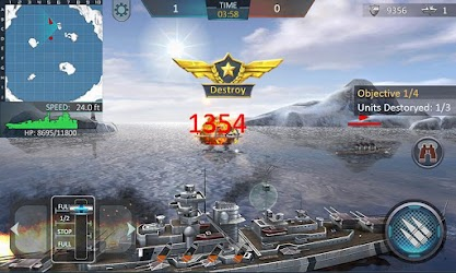 Warship Attack 3D 1.0.2 Apk (Unlimited Money) MOD 4