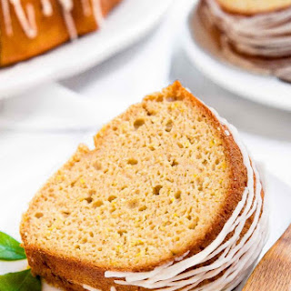 Healthy Lemon Bundt Cake.