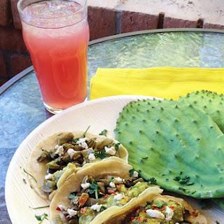 Cactus Tacos ~ Tacos de Nopales
