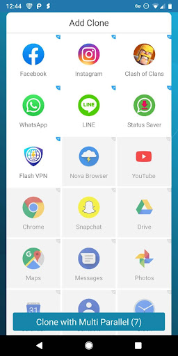 Multi Parallel - Multiple Accounts & App Clone 1.4.00.0718 Screenshots 2