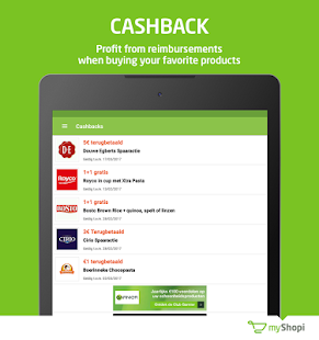 myShopi – shopping & promo- screenshot thumbnail