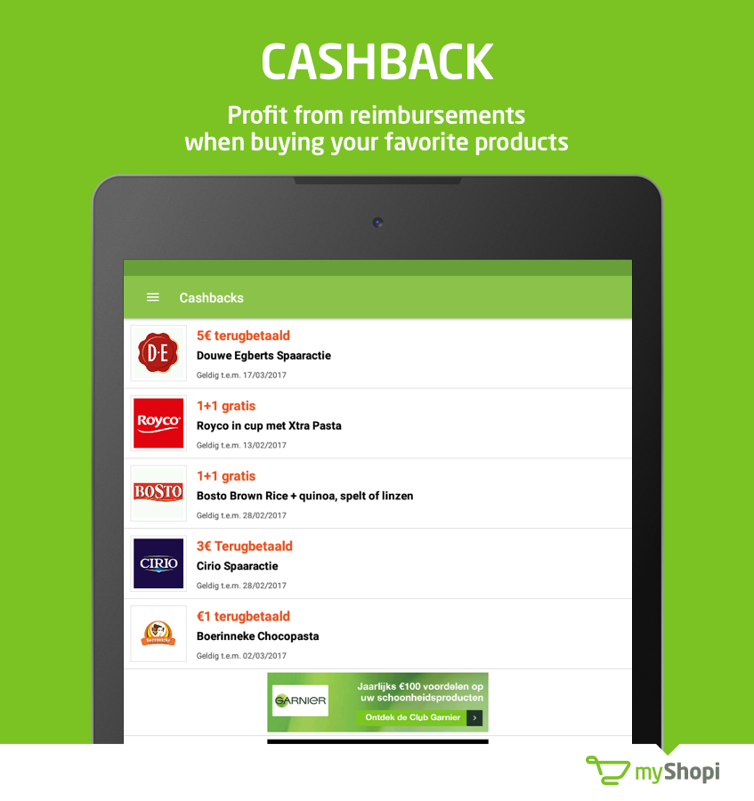 myShopi – shopping & promo- screenshot