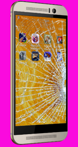 Cracked Screen Effect (joke) 1.7.0 screenshots 5