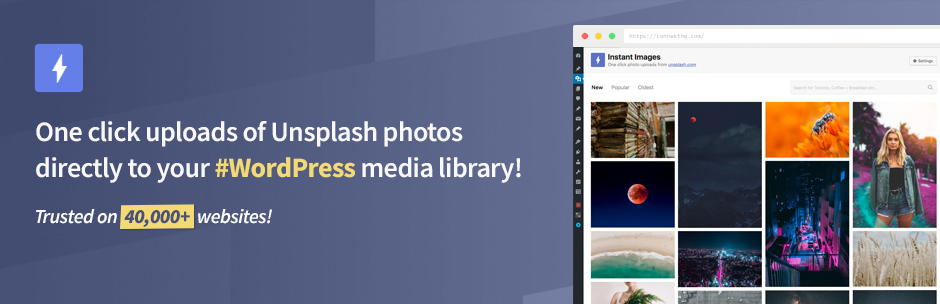 Plugin WordPress Instant Images