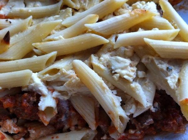 Greek Lamb With Noodles Recipe
