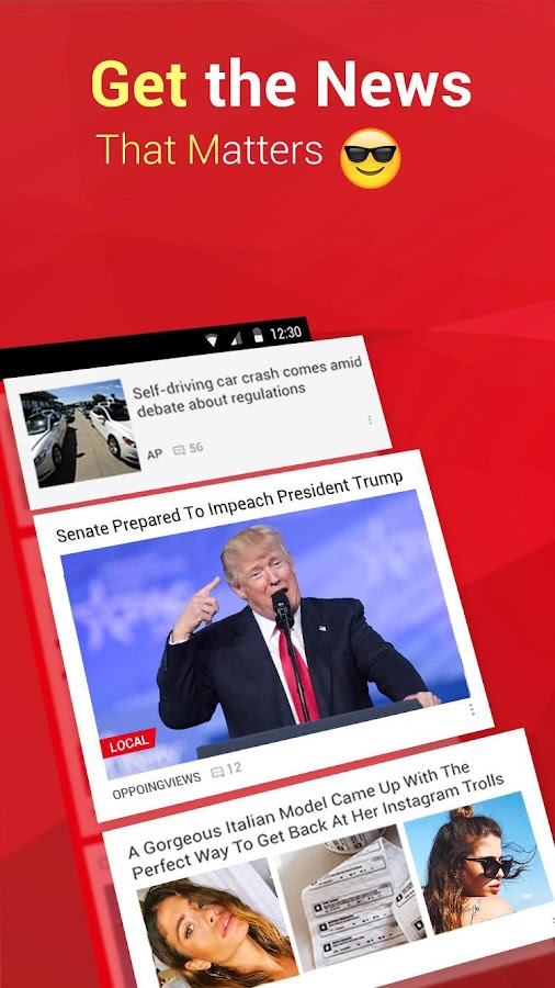 how to add local news to google play news