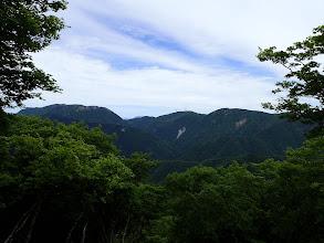 銚子岳から藤原岳と御池岳