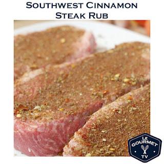 Southwest Cinnamon Steak Rub