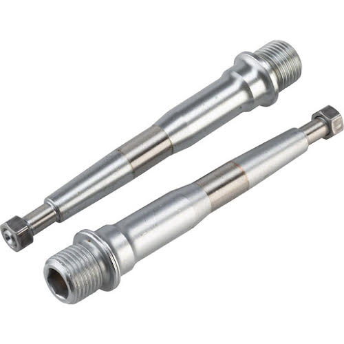 HT Pedals Cromo Spindle for AE03 and AE05 Pedals, Silver