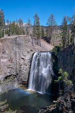 Photo: Upper Rainbow Falls With rainbow... Middle Fork of the San Joaquin River, Eastern Sierras, California #waterfallwednesday