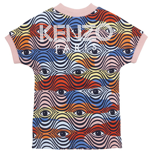 Thumbnail images of Kenzo Kids Eye Logo Dress