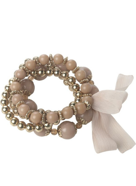 Photo: 4 Row Beaded Bracelet £4.99 Buy 1 Get 1 Free http://bit.ly/K9dSTD