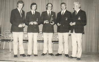 Photo: Irish Spear Fishing Team, Malta '74, North European Championships